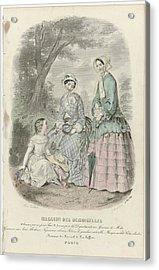Magasin Des Demoiselles, 25 Mai 1849, J. Desjardins, 1849 Acrylic Print by Celestial Images