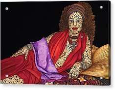 Magdalena Acrylic Print by Tina Blondell