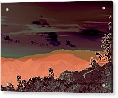 Magellan's Final Twilight 2016 Acrylic Print by James Warren