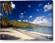 Magens Bay Morning St Thomas Us Virgin Islands Acrylic Print by George Oze