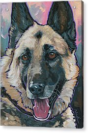 Maggie Acrylic Print by Nadi Spencer