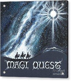 Magi Quest Acrylic Print