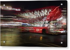 Acrylic Print featuring the photograph Magic Bus by Alex Lapidus