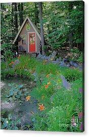 Acrylic Print featuring the photograph Magic Garden by Susan Carella