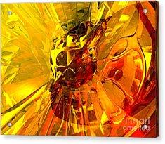 Magic Honeycomb Abstract Acrylic Print
