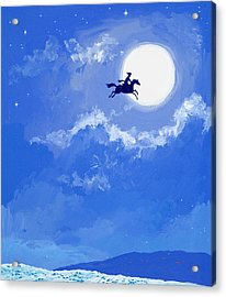 Magic Horse Acrylic Print by Angus McBride