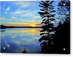Magic Hour Acrylic Print by Keith Armstrong