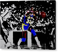 Magic Johnson Bounce Pass Acrylic Print