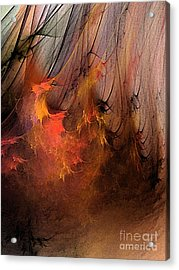 Magic Acrylic Print by Karin Kuhlmann