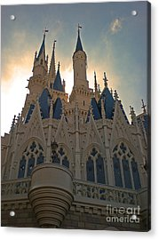 Magic Kingdom - Cinderella Castle Acrylic Print
