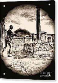 Magic Lantern Pompeii Acrylic Print