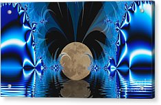 Magic Moon Acrylic Print by Geraldine DeBoer