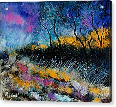 Magic Morning Light Acrylic Print by Pol Ledent