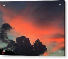 Late Day On Paros Island  Acrylic Print