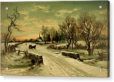 Magic Of Christmas Acrylic Print