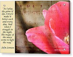 Magic Of Music Acrylic Print