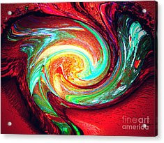 Magic Acrylic Print by Patric Carter