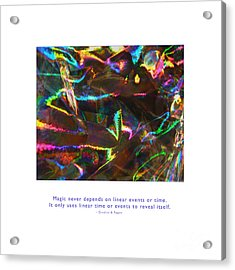 Acrylic Print featuring the photograph Magic Reveals Itself by Kristen Fox
