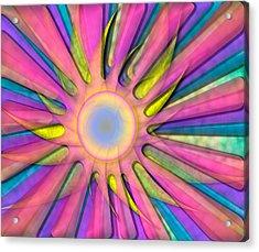 Magic Sun Acrylic Print