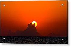 Magic Sunset Acrylic Print by Thomas Splietker