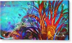 Magic World Acrylic Print