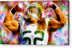 Magical Clay Matthews Acrylic Print