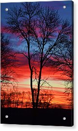 Magical Colors In The Sky Acrylic Print