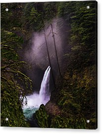 Magical Falls 2 Acrylic Print by Larry Marshall