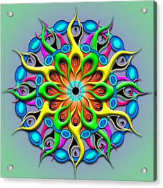 Magical Hypnosis Acrylic Print