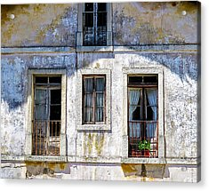 Acrylic Print featuring the photograph Magical Light On Sintra Windows by Marion McCristall