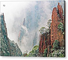Magical Mountain Acrylic Print by PuiYuen Ng