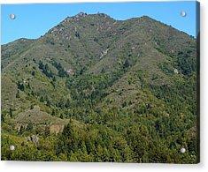 Magical Mountain Tamalpais Acrylic Print by Ben Upham III