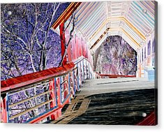 Magical Mystery Bridge Acrylic Print