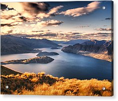 Magical New Zealand Acrylic Print