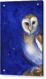 Magical Night One Acrylic Print by Nancy Moniz