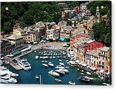 Magical Portofino  Acrylic Print by Brenda Kean