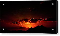 Magical Sunset In Africa 2 Acrylic Print