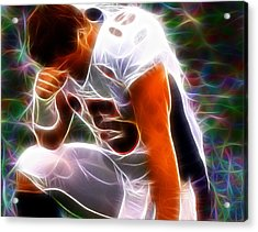 Magical Tebowing Acrylic Print by Paul Van Scott