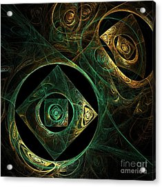 Magical Vibrations Acrylic Print by Oni H