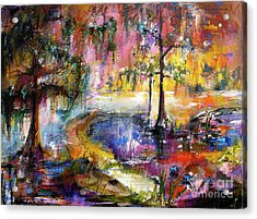 Magical Wetland Landscape Acrylic Print