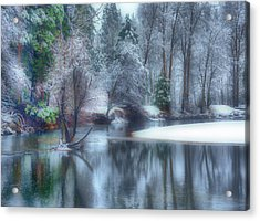 Magical Touch To Yosemite Acrylic Print by Josephine Buschman