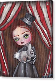 Magician Girl Acrylic Print by  Abril Andrade Griffith