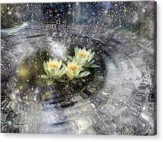 Magick Ripples Acrylic Print