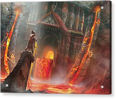 Magmatic Insight Acrylic Print