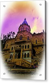 Acrylic Print featuring the photograph Magnificent Church Of Biblian II by Al Bourassa
