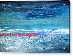 Magnificent Morning Abstract Seascape Acrylic Print