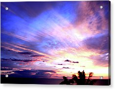 Magnificent Sunset Acrylic Print