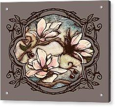 Magnolia Branch II Acrylic Print