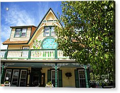 Acrylic Print featuring the photograph Magnolia House by John Rizzuto