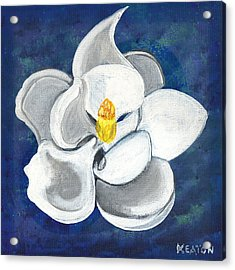 Acrylic Print featuring the painting Magnolia by John Keaton